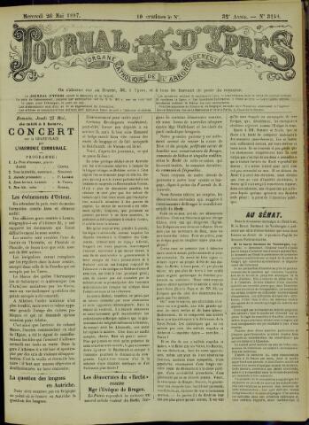 Journal d'Ypres (1874 - 1913) 1897-05-26