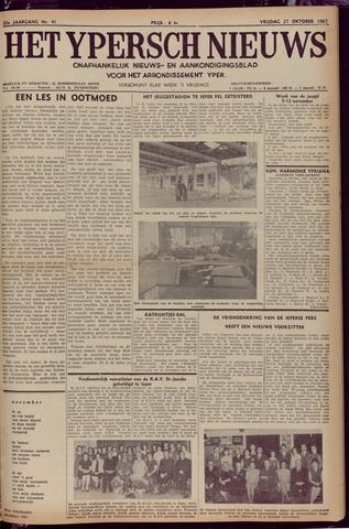 Het Ypersch nieuws (1929-1971) 1967-10-27