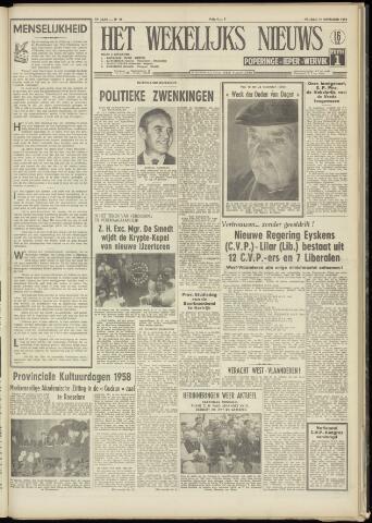 Het Wekelijks Nieuws (1946-1990) 1958-11-14