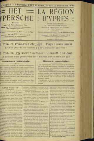 Het Ypersche (1925 - 1929) 1925-09-19