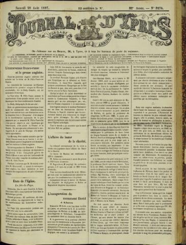 Journal d'Ypres (1874 - 1913) 1897-08-28