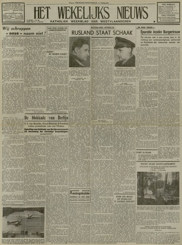 Het Wekelijks Nieuws (1946-1990) 1948-07-10