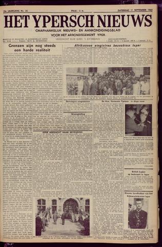 Het Ypersch nieuws (1929-1971) 1965-09-11