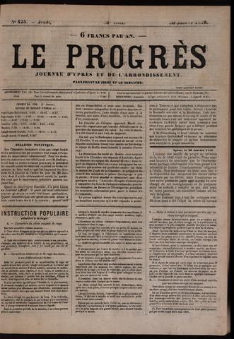 Le Progrès (1841-1914) 1879-01-30