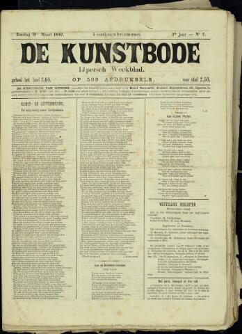 De Kunstbode (1880 - 1883) 1882-03-19