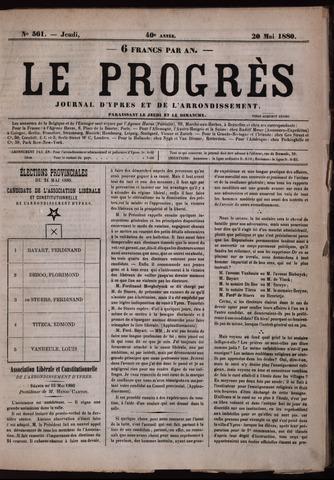 Le Progrès (1841-1914) 1880-05-20