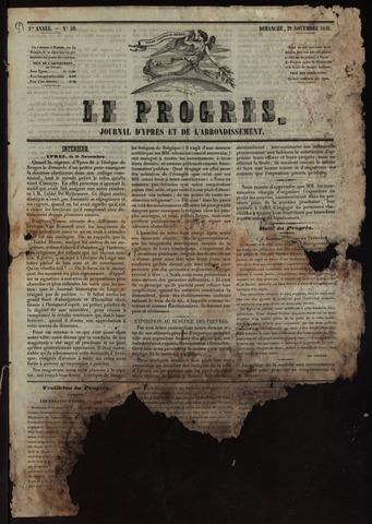 Le Progrès (1841-1914) 1841-11-21