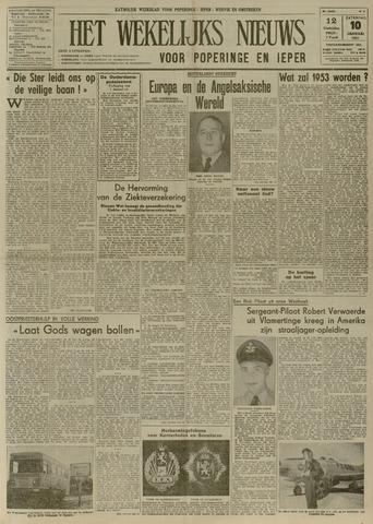 Het Wekelijks Nieuws (1946-1990) 1953-01-10