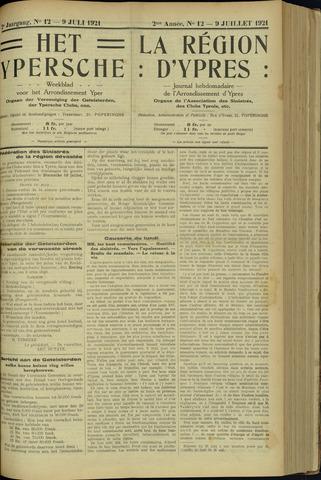 Het Ypersche (1925 - 1929) 1921-07-09