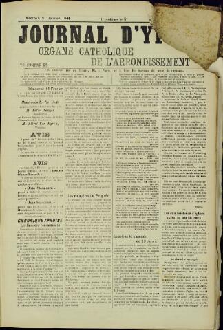 Journal d'Ypres (1874 - 1913) 1906-01-31