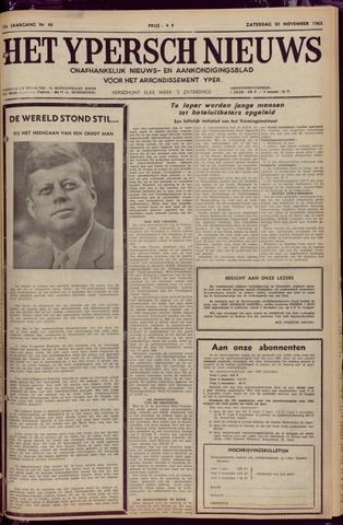 Het Ypersch nieuws (1929-1971) 1963-11-30