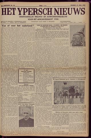 Het Ypersch nieuws (1929-1971) 1967-07-21