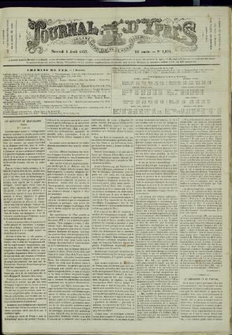 Journal d'Ypres (1874 - 1913) 1877-04-04