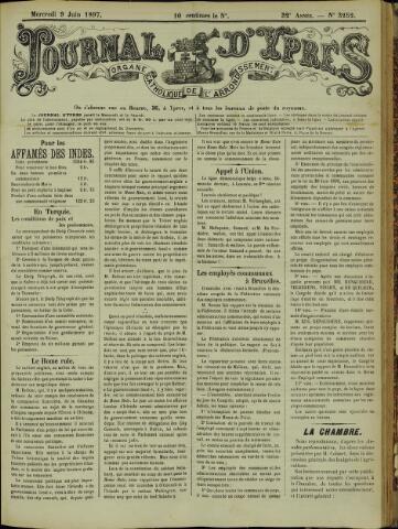 Journal d'Ypres (1874 - 1913) 1897-06-09
