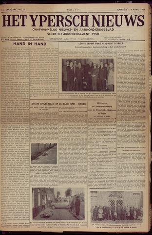 Het Ypersch nieuws (1929-1971) 1961-04-29