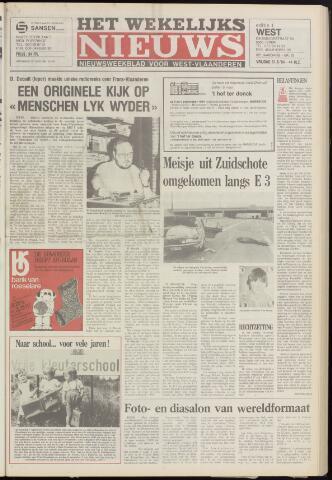 Het Wekelijks Nieuws (1946-1990) 1984-08-31