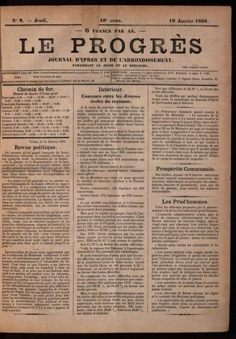 Le Progrès (1841-1914) 1888-01-19