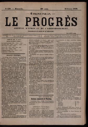 Le Progrès (1841-1914) 1879-02-09