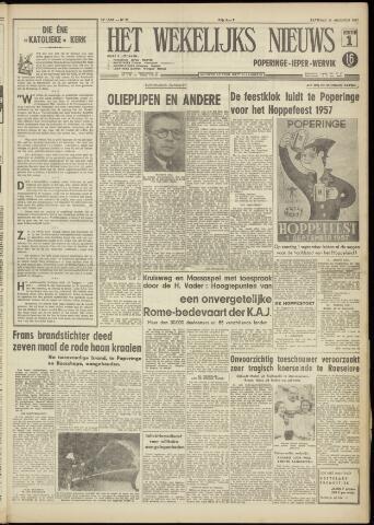 Het Wekelijks Nieuws (1946-1990) 1957-08-31