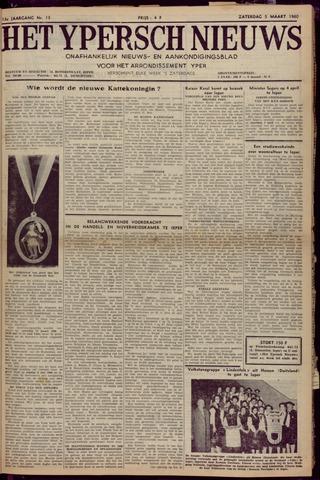 Het Ypersch nieuws (1929-1971) 1960-03-05