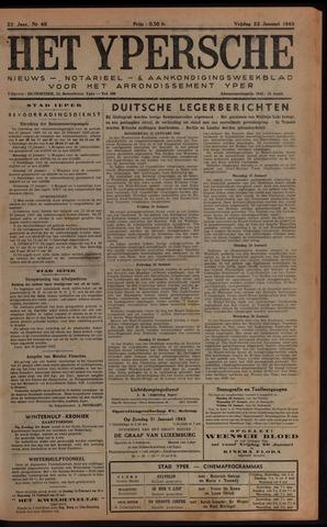 Het Ypersch nieuws (1929-1971) 1943-01-22