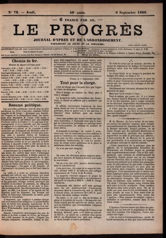 Le Progrès (1841-1914) 1888-09-06