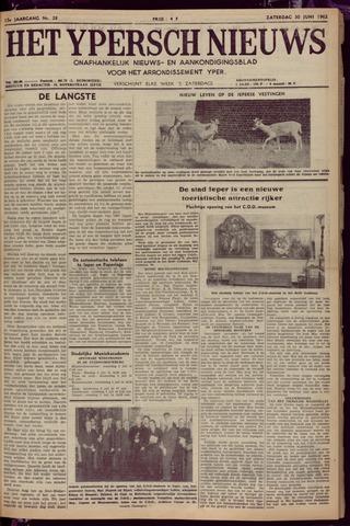 Het Ypersch nieuws (1929-1971) 1962-06-30