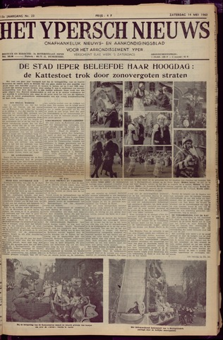 Het Ypersch nieuws (1929-1971) 1960-05-14