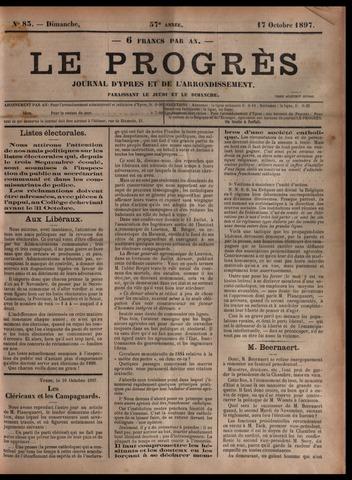 Le Progrès (1841-1914) 1897-10-17