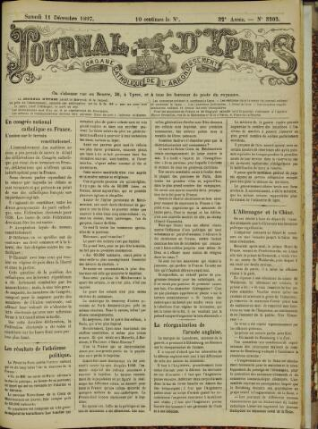 Journal d'Ypres (1874 - 1913) 1897-12-11