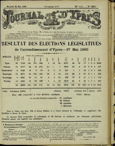 Journal d'Ypres (1874 - 1913) 1900-05-30