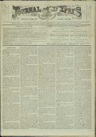Journal d'Ypres (1874 - 1913) 1877-10-17