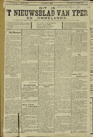 Nieuwsblad van Yperen en van het Arrondissement (1872 - 1912) 1902-01-04