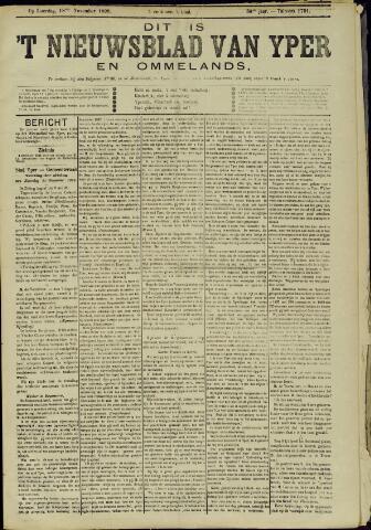 Nieuwsblad van Yperen en van het Arrondissement (1872 - 1912) 1899-11-18