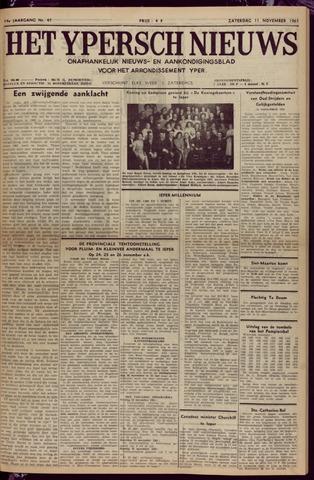 Het Ypersch nieuws (1929-1971) 1961-11-11