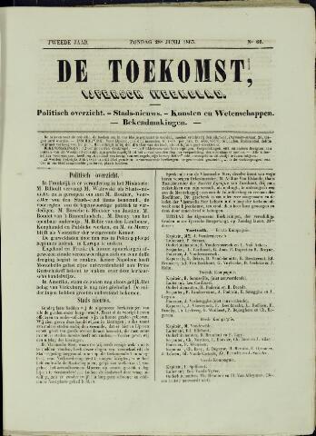 De Toekomst (1862 - 1894) 1863-06-28