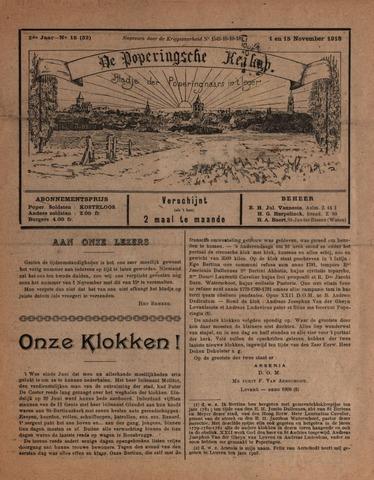 De Poperingsche Keikop (1917-1919) 1918-11-01