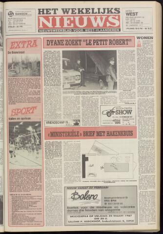 Het Wekelijks Nieuws (1946-1990) 1987-02-13