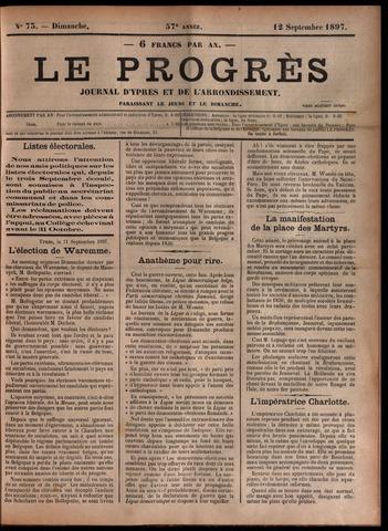 Le Progrès (1841-1914) 1897-09-12