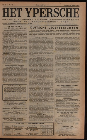 Het Ypersch nieuws (1929-1971) 1943-03-19