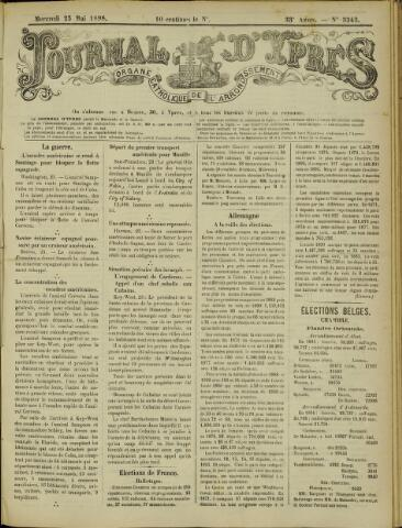 Journal d'Ypres (1874 - 1913) 1898-05-25