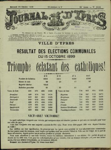 Journal d'Ypres (1874 - 1913) 1899-10-18