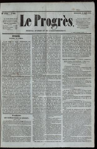 Le Progrès (1841-1914) 1847-03-21