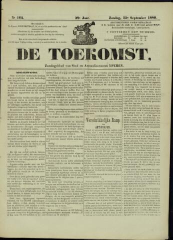 De Toekomst (1862 - 1894) 1889-09-15