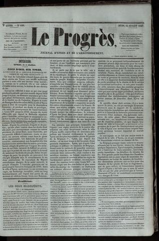 Le Progrès (1841-1914) 1847-07-15