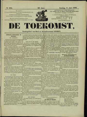 De Toekomst (1862 - 1894) 1889-07-07
