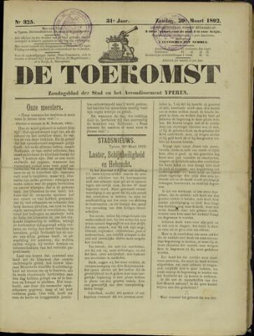 De Toekomst (1862 - 1894) 1892-03-20