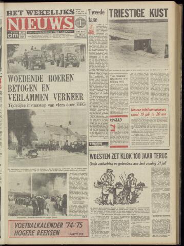 Het Wekelijks Nieuws (1946-1990) 1974-07-19