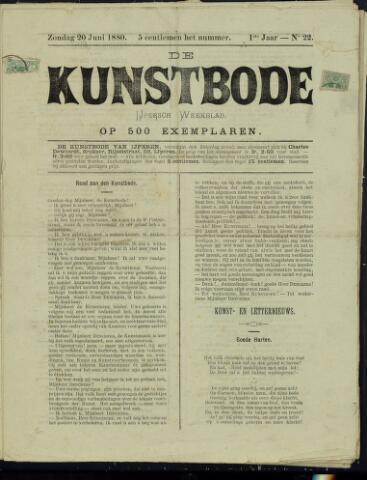 De Kunstbode (1880 - 1883) 1880-06-20