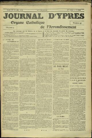 Journal d'Ypres (1874 - 1913) 1912-11-16